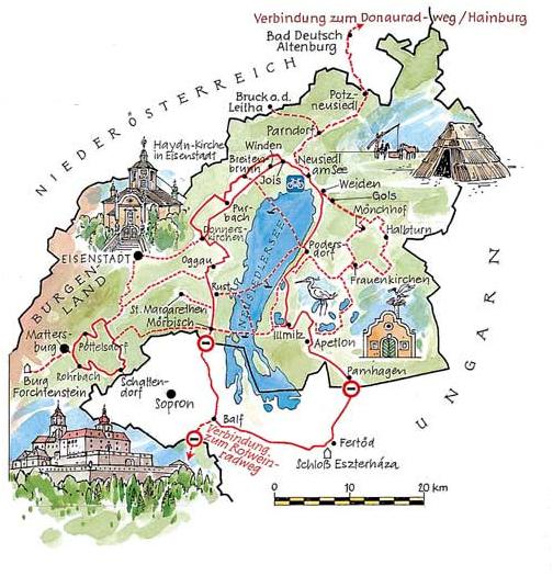 Radtouren Burgenland