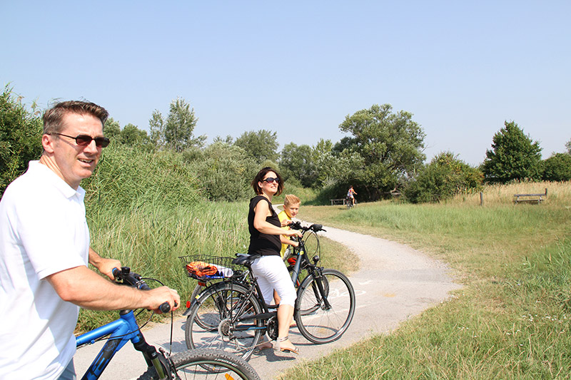 Radtour im Nationalpark