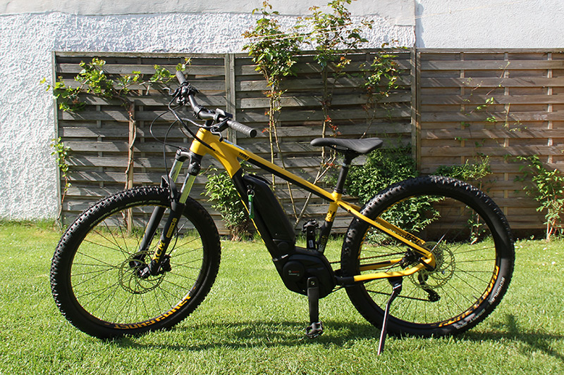 Ghost E-Bike gelb